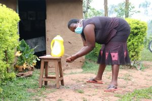 The Water Project:  Rosemary Washing Her Hands