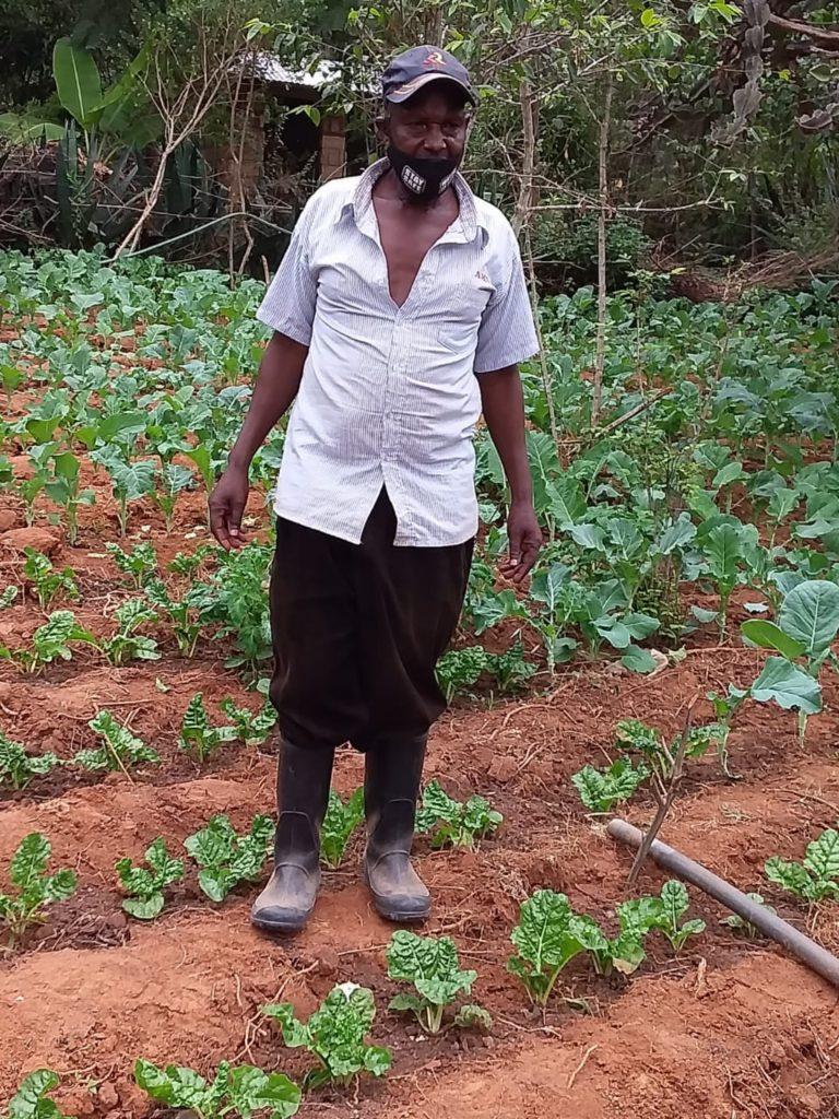 The Water Project : covid19-kenya4809-joshua-mutua-at-the-farm