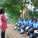 The Water Project: Malinda Secondary School -  Dental Hygiene Training