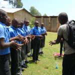 The Water Project: Malinda Secondary School -  Handwashing Demonstration
