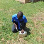 The Water Project: Malinda Secondary School -  Practical Session On Making A Leaky Tin Handwashing Station