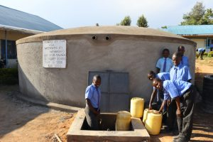 The Water Project:  Pupils Collecting Water
