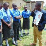 The Water Project: Malinda Secondary School -  Training On Dental Hygiene Using Dental Chart