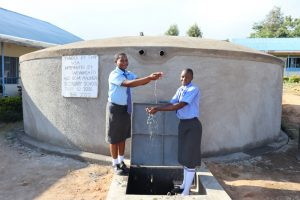 The Water Project:  Water Bringing Pupils Together