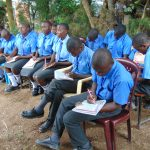 The Water Project: Malinda Secondary School -  Participants Taking Notes During Training