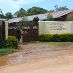 The Water Project: Friends Kisasi Secondary School -  School Entrance