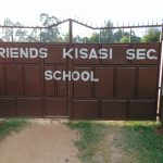 The Water Project: Friends Kisasi Secondary School -  School Gate