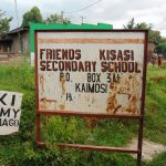 The Water Project: Friends Kisasi Secondary School -  School Signpost