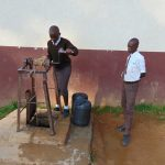 The Water Project: Friends Kisasi Secondary School -  Students Fetching Water