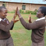 The Water Project: Friends Kisasi Secondary School -  Students Playing