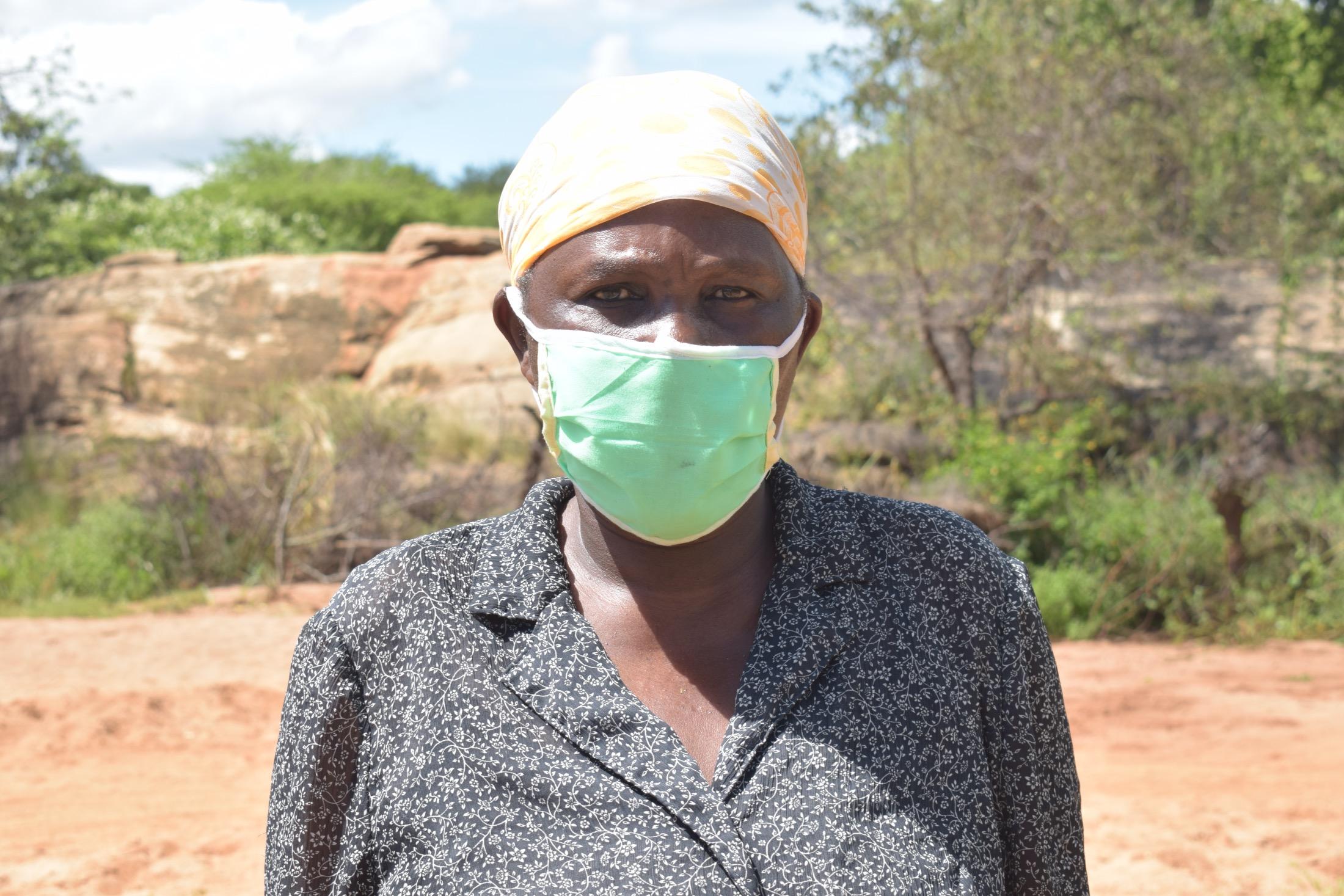 The Water Project : kenya18211-jane-maitha-56yrs-2