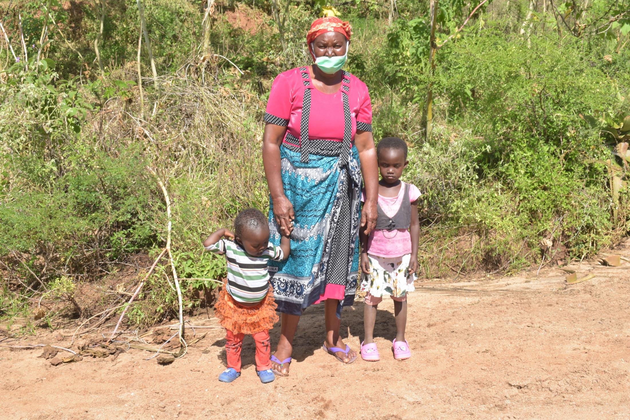 The Water Project : kenya18221-mary-kitheka-61yrs-1