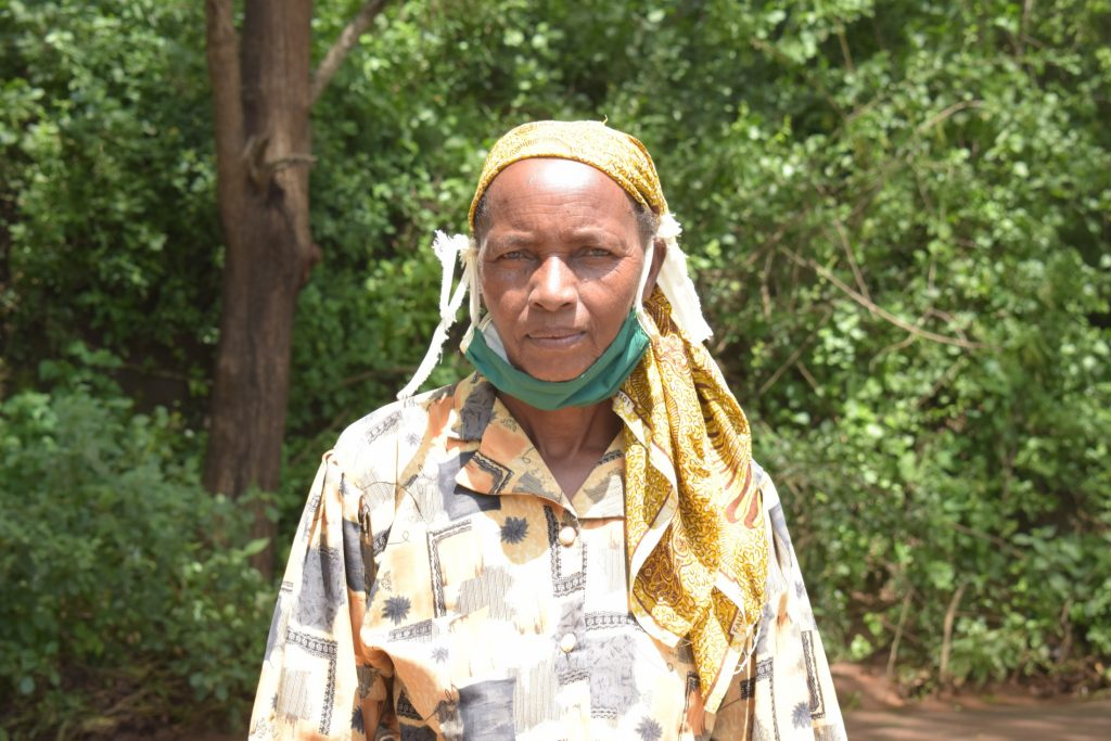 The Water Project : kenya19198-mary-mbilu-65yrs-2