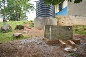 The Water Project:  Small Rain Tank With Taps