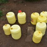 The Water Project: Isango Primary School -  Water Storage Containers