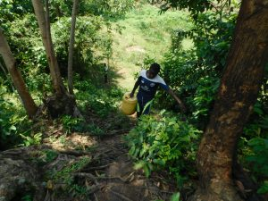 The Water Project:  Taking Water Home From Lubale Spring
