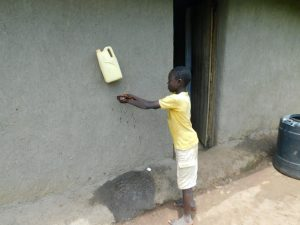 The Water Project:  Using A Handwashing Station