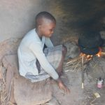 The Water Project: Mukhweso Community, Shemema Spring -  A Girl Helps To Prepare Lunch For Her Family