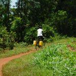 The Water Project: Mukhweso Community, Shemema Spring -  Biking Water Home