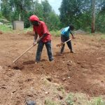 The Water Project: Kapkoi Primary School -  Site Excavation