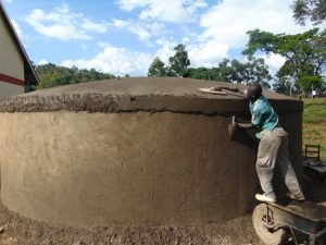 The Water Project:  Dome Setting And Plastering