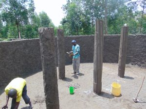 The Water Project:  Pillar Plastering