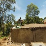 The Water Project: Kapkoi Primary School -  Dome Setting And Plastering