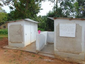 The Water Project:  The Two Vip Latrine Blocks At Kapkoi Primary School