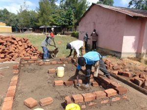 The Water Project:  Setting Foundation For Latrines