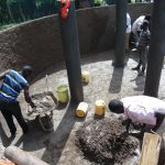 The Water Project: Boyani Primary School -  Inside Plastering