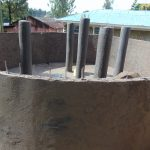 The Water Project: Boyani Primary School -  Plastering The Pillars
