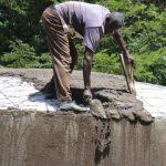 The Water Project: Friends School Shivanga Secondary -  Artisan Evans At Work