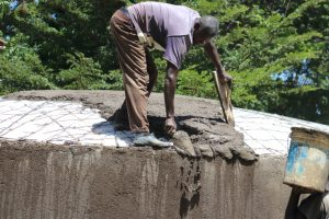 The Water Project:  Artisan Evans At Work