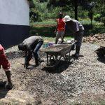 The Water Project: Friends School Shivanga Secondary -  Concrete Tank Foundation Mixture