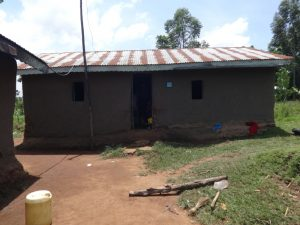 The Water Project:  Outside The Kitchen