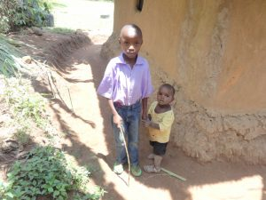 The Water Project:  Moses With His Little Brother Ake