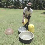 The Water Project: Shihome Community, Peter Majoni Spring -  Pots As Water Storage