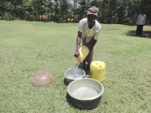 The Water Project:  Pots As Water Storage
