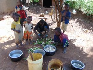 The Water Project:  A Family Preparing Lunch