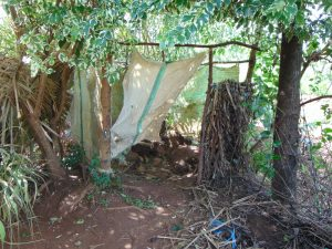 The Water Project:  Inside The Bathing Shelter