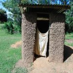 The Water Project: Indulusia Community, Yakobo Spring -  Latrine