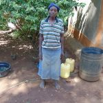 The Water Project: Indulusia Community, Yakobo Spring -  Mrs Jane Isaiah