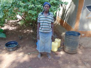 The Water Project:  Mrs Jane Isaiah