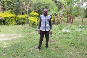 The Water Project:  Isaac Burudi