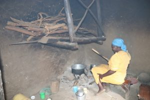 The Water Project:  Mrs Burudi Preparing A Meal