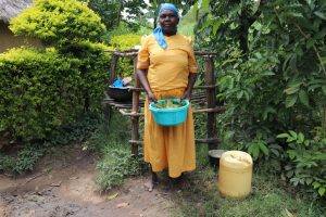 The Water Project:  Mrs Burudi Preparing Vegetables