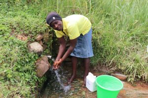 The Water Project:  Washing Hands Before Fetching Water