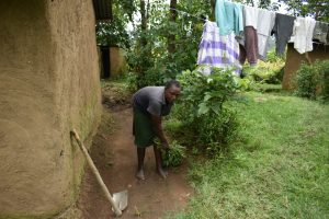 The Water Project:  Cleaning The Compound