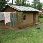 The Water Project: Mukhungula Community, Mulongo Spring -  Clothes Drying