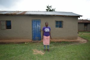 The Water Project:  Nelly Mulongo At Her Home